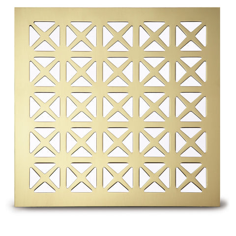 "206 Maltese Perforated Grille: 1¾"" pattern - 45% open area"