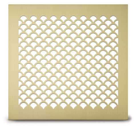 "207 Shell Perforated Grille: 5/8"" patter - 48% open area"
