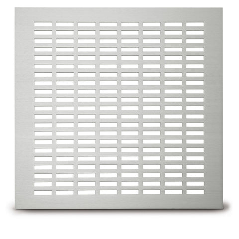 "210 School Slot Perforated Grille: ¼"" x 1"" pattern - 35% open area"