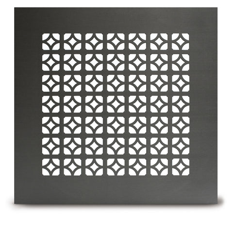"211 Egyptian Perforated Grille: 1"" pattern - 40% open area"