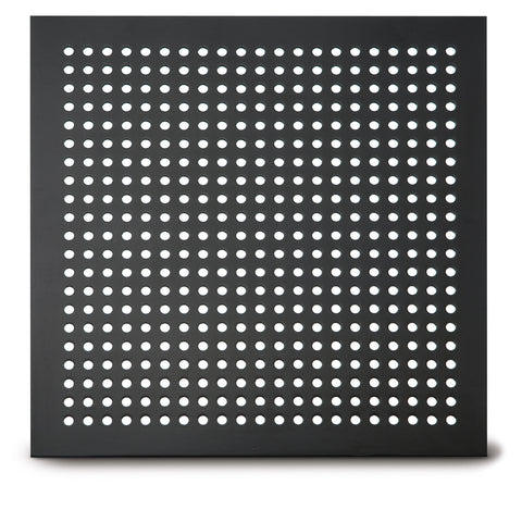 "212 Straight Hole Perforated Grille: ¼"" diameter with ½"" centers - 21% open area"