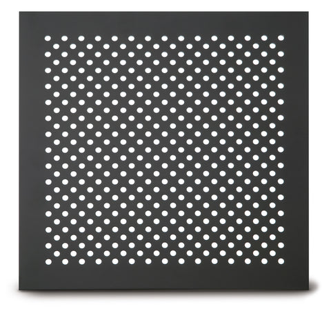 "213 Staggered Hole Perforated Grille: ¼"" diameter with ½"" centers - 23% open area"
