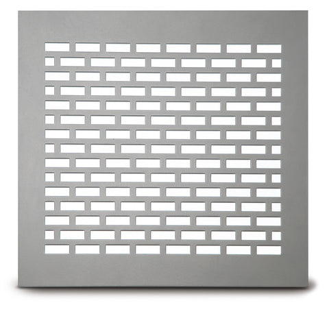 "215 Brick Perforated Grille: ¼"" x 1"" pattern - 35% Open"