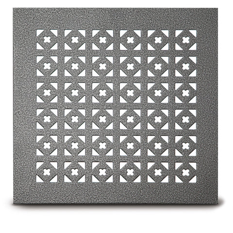 "217 Triangle & Clover Perforated Grille: 1¼"" pattern - 23% open area"