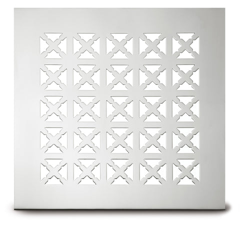 "218 Cross Link Perforated Grille: 1½"" pattern - 45% open area"