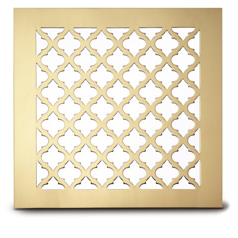 "220 Classic Perforated Grille: 1 5/8"" x 1 5/16"" pattern - 58% open area"