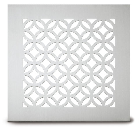 "222 Circle Link Perforated Grille: 2½"" pattern - 65% open area"