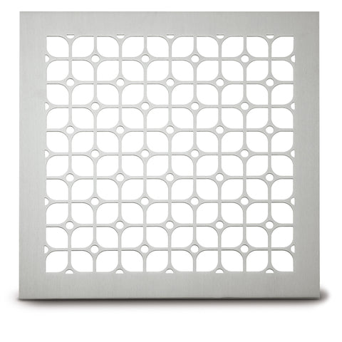 "227 Petals Perforated Grille: 1 7/8"" pattern - 52% open area"
