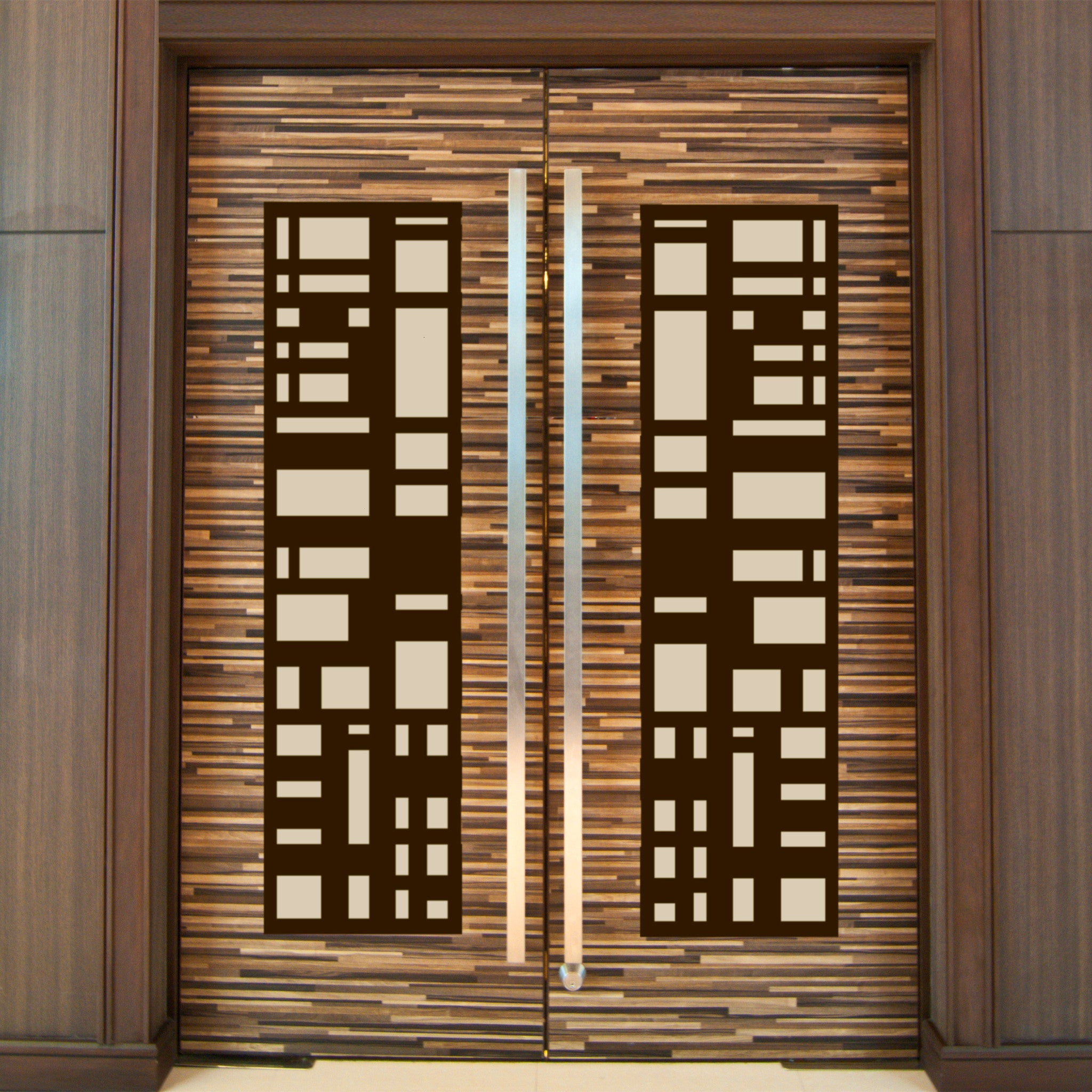 newest cut coated style outdoor decor screen decorative powder metal laser product door