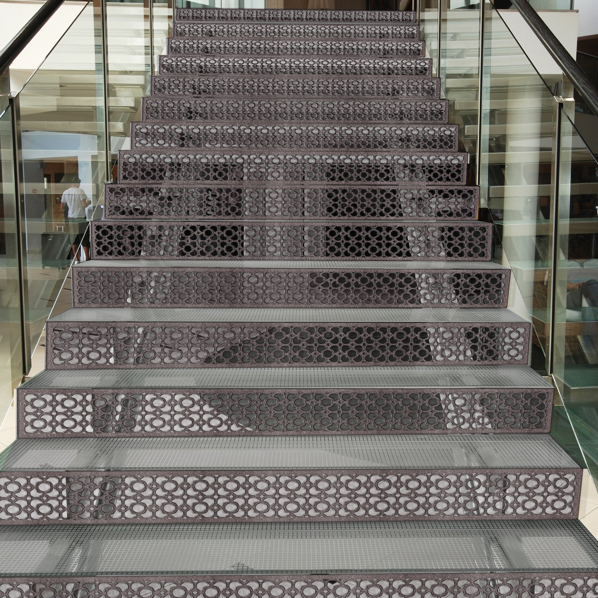 Stair Risers Treads Architectural Grille