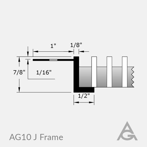 AG10 Green Bar Grille