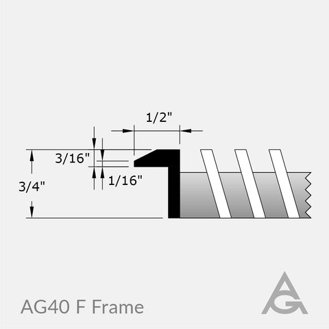 AG40 Green Bar Grille