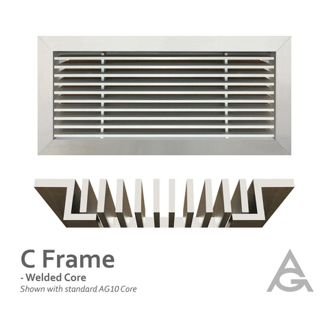 C Frame: Welded Core