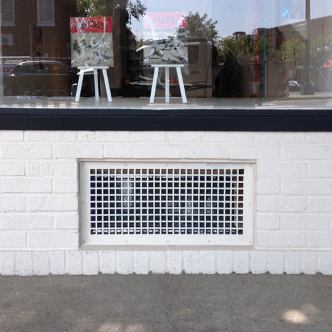 "208 Lattice Perforated Grille: 1"" with ¼""  bar - 64% open area"