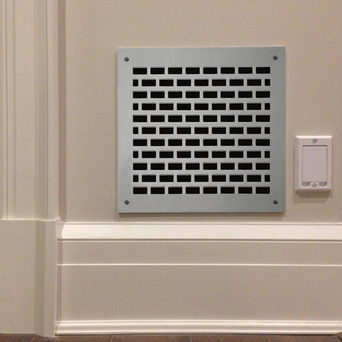 "215 Brick Perforated Grille: 3/8"" x 1"" pattern - 43% Open"