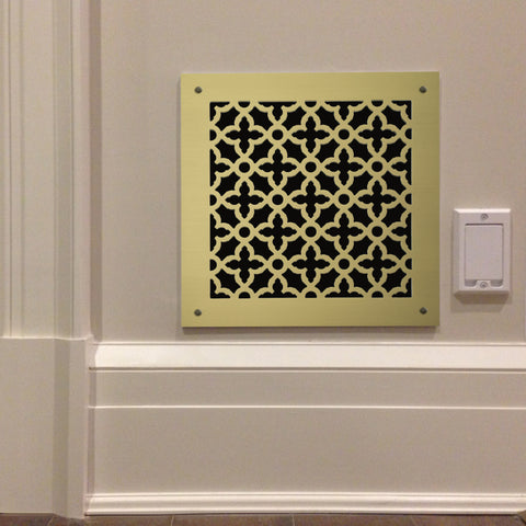 "225 Majestic Perforated Grille: 1¾"" pattern - 52% open area"