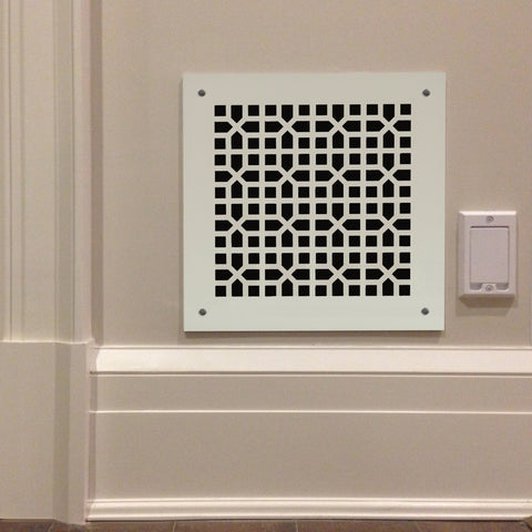 "229 Orient Perforated Grille: 2"" pattern - 48% open area"