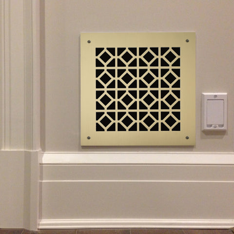 "219 Windsor Perforated Grille: 2"" pattern - 55% open area"