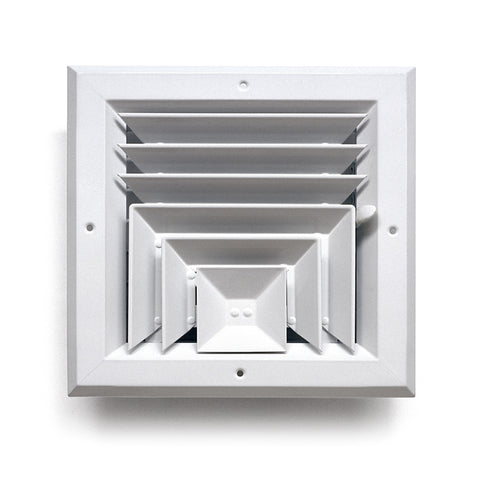 Square Ceiling Diffuser 3 Way Architectural Grille