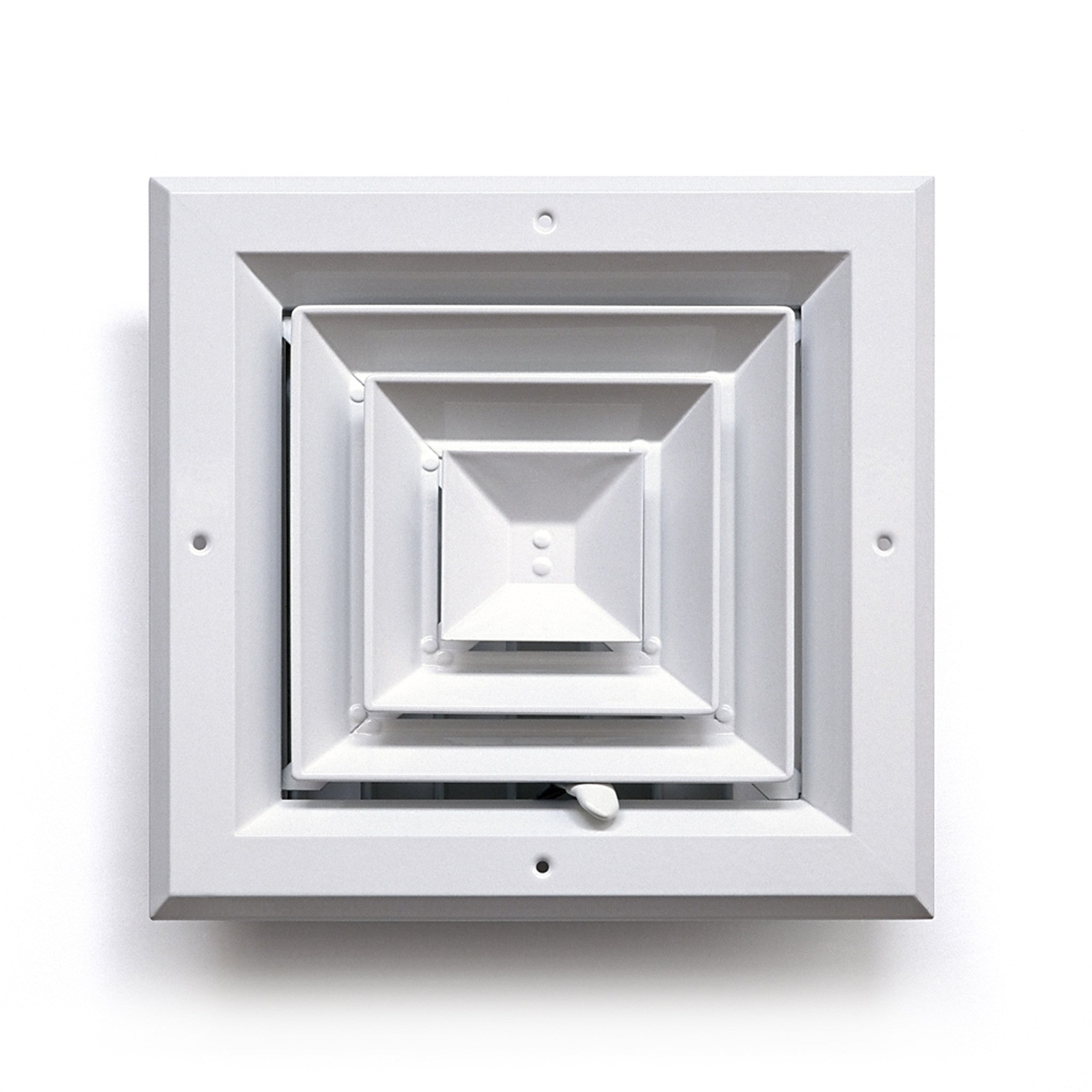 Square Ceiling Diffuser 4 Way Architectural Grille