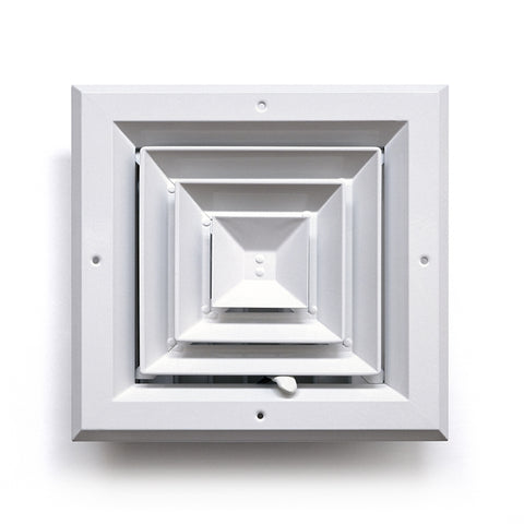 Square Ceiling Diffuser 4 Way