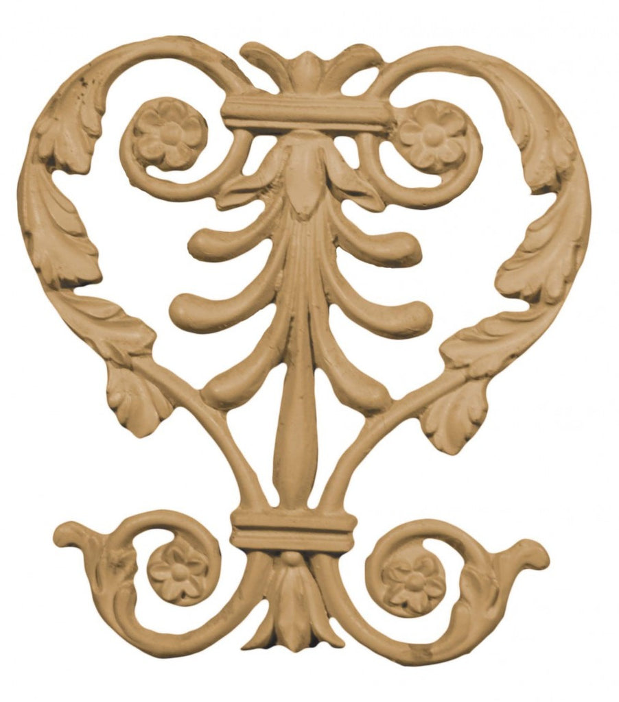 Greek Center Flourish Appliqué