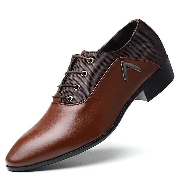 Mens Business Shoes Casual Formal Wedding Dress Shoes