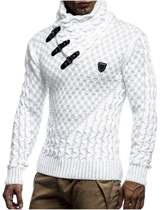Men's Autumn and Winter Knitted Sweater