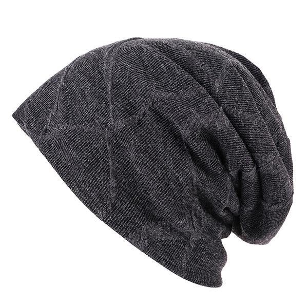 Fashion Winter Slouch Skull Hat Knited Beanie Baggy Cap