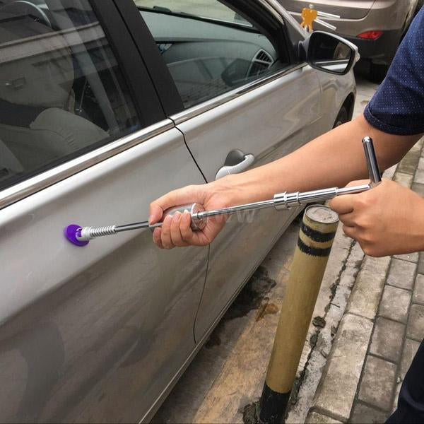 Car Sheet Metal Depression Repair Puller Unmarked Suction Cup Convex Pull Hammer Car Dent Removal Bar- Does Not Ruin Paint