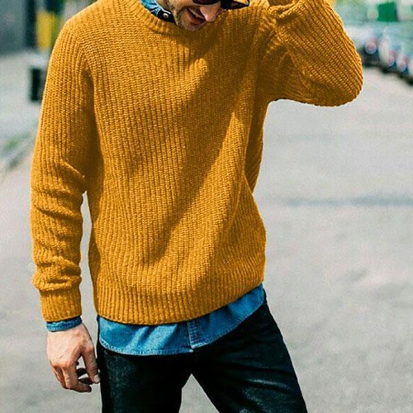 Casual Men's Winter Plus Size Sweater