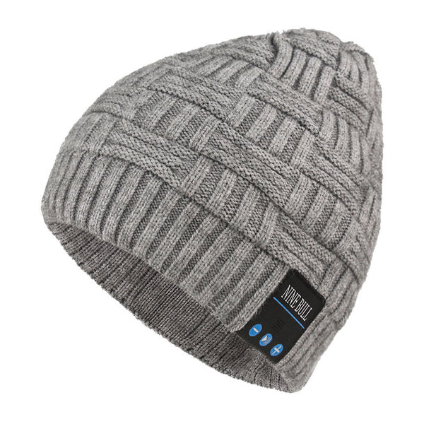 Autumn and Winter Smart Call Music Warm Hats