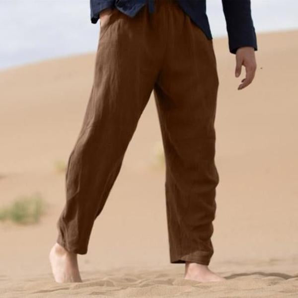 Vintage Summer Casual Solid Color Pants