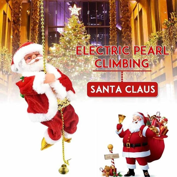 Best Christmas Gift Rope Climbing Santa Claus Christmas