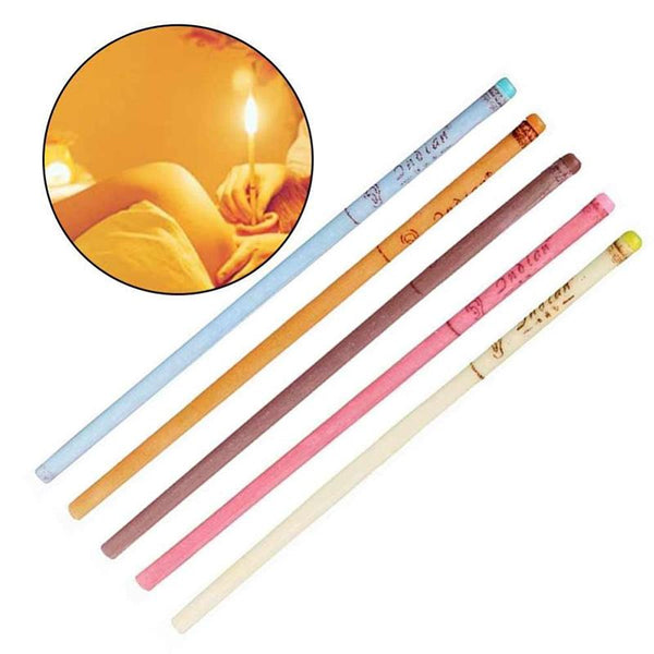 Beeswax Fragrant Ear Candle 10pcs  (Buy 2 get 2nd at 10% off, CODE:TS 10 ;Buy 3 get 3nd at 15% off ,CODE:TS 15)
