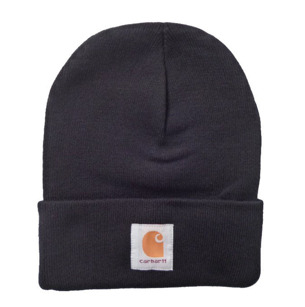 Men's Wool Hat Winter Simple Letter Embroidered Warm Knitted Hats