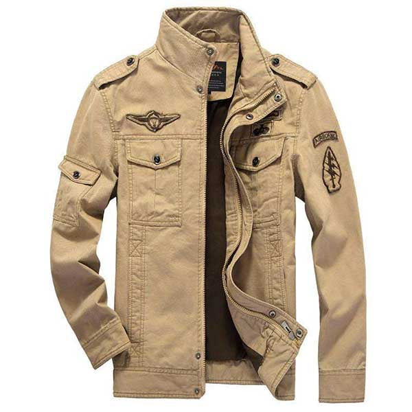 Casual Men's Large Size Jackets