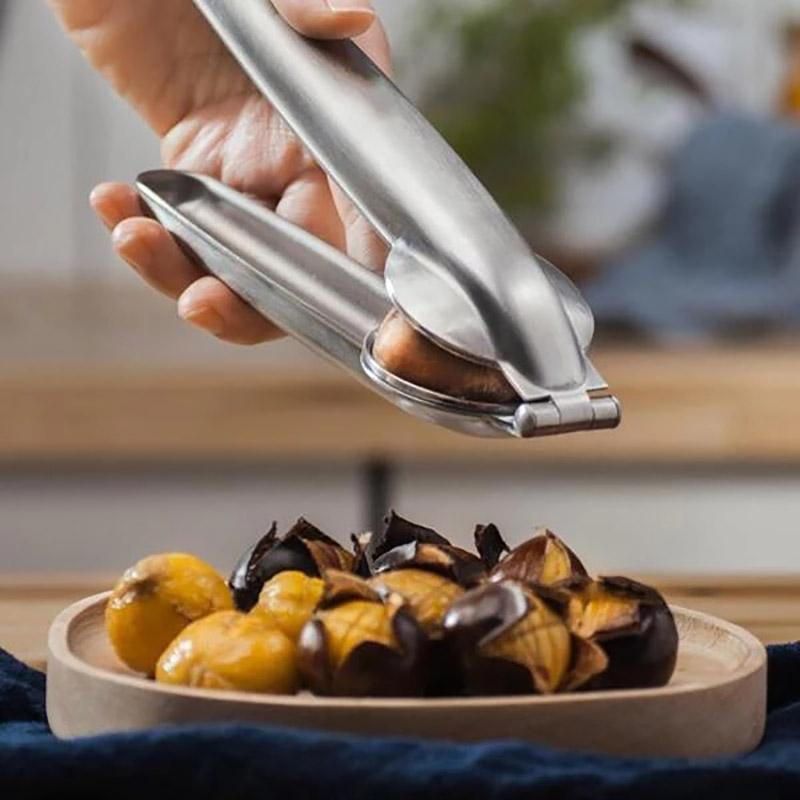 Stainless Steel Chestnut Opener(BUY 1 GET 2ND 10% OFF)Gadgets