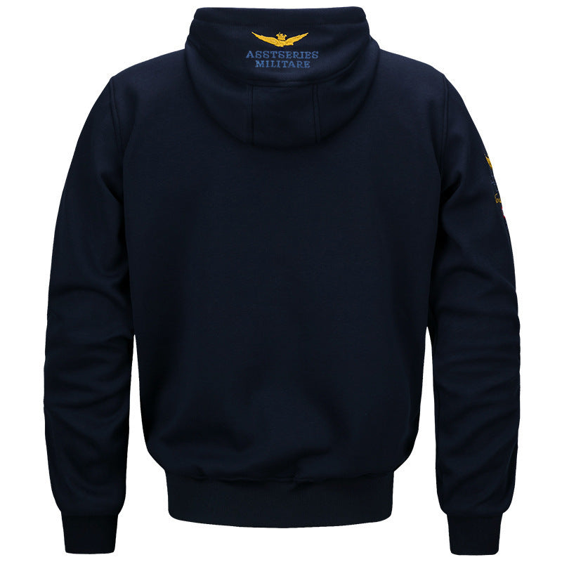 Air Force Men's Hooded Sports Casual Sweatshirt