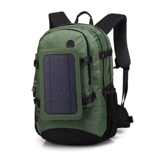 Outdoor Solar Package USB Mobile Phone Charging Backpack