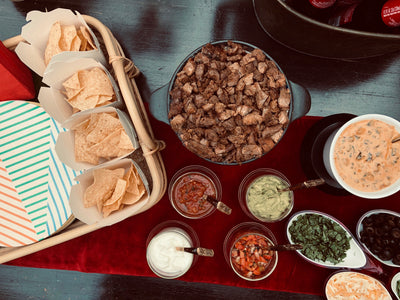 We all scream for QUESO! (and a nachos bar)