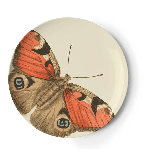 "BUTTERFLY 9"" MELAMINE PLATES 