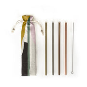 REUSABLE STRAW SET | SET OF 4
