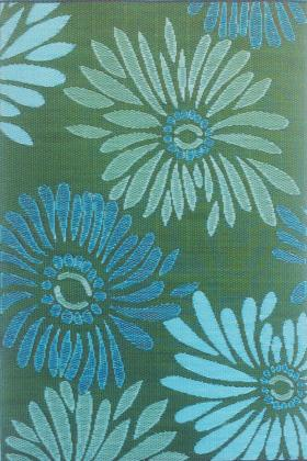 THE OG RECYCLED PLASTIC OUTDOOR MAT 5' X 8' DAISY