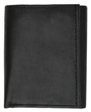 RFID Genuine Leather Trifold ID Card Holder Wallet RFID 1145 (C)