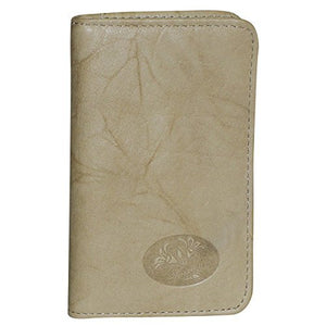 Buxton Heiress Pik-Me-Up Snap Card Case, taupe
