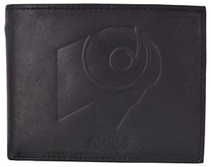 Aries Zodiac Sign Bifold Trifold Genuine Leather Men's Wallets
