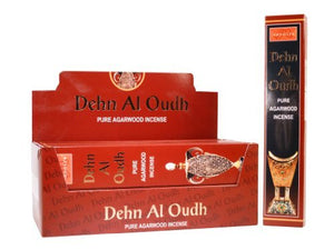 Nandita Dehn Al Oudh Incense - wallets for men's at mens wallet