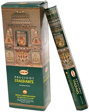 Hem Precious Musk Fragrance Incense Sticks, 120 Count - menswallet