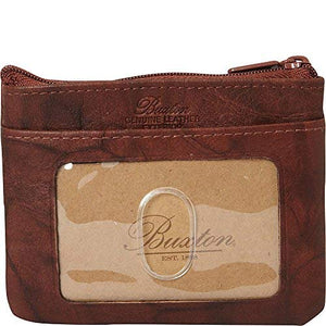 Buxton Heiress Pik-Me-Up I.D. Coin/Card Case, mahogany - wallets for men's at mens wallet